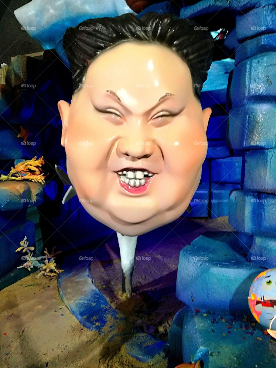 #kim jong un #art #picture #funny #entertainment #floap #smile #buy #voted #vote