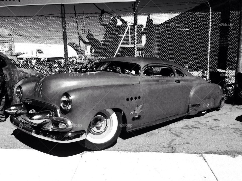 1950 Chevy coupe
