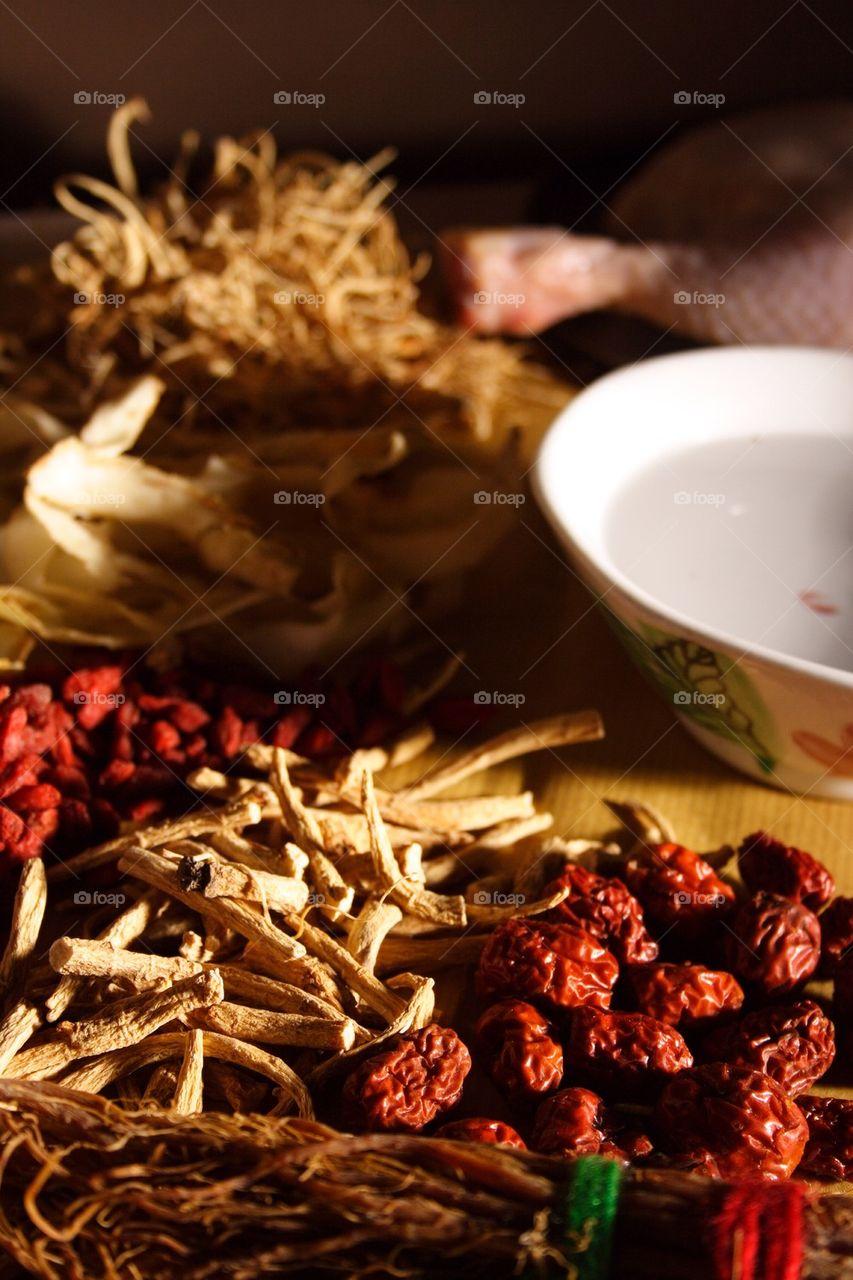 Herbal soup ingredient