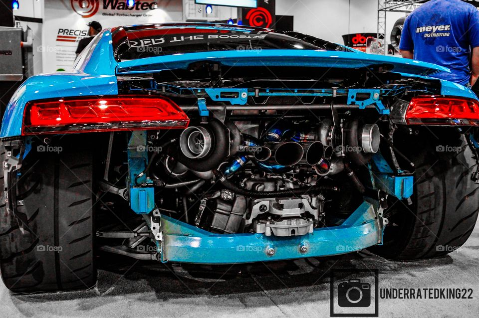 Twin Turbo Audi R8 V10