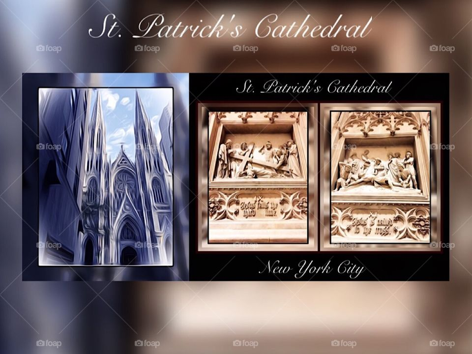 St. Patrick's Cathedral Church, New York City.