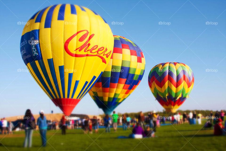 Hit air balloon festival