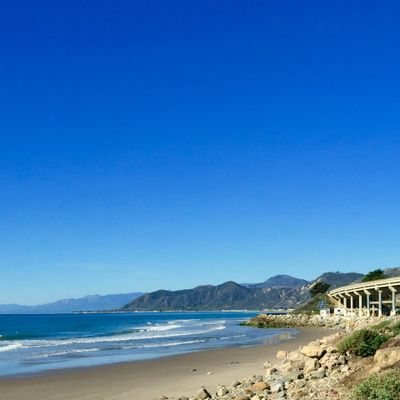 California Beach coast
