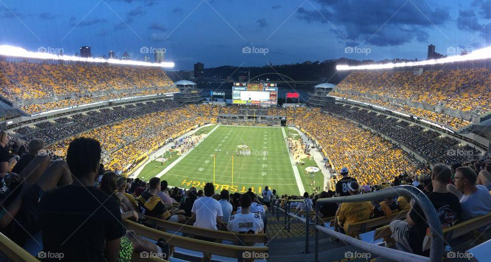 Heinz Field [Steelers v. Eagles] Pittsburgh, Pennsylvania  August 2016