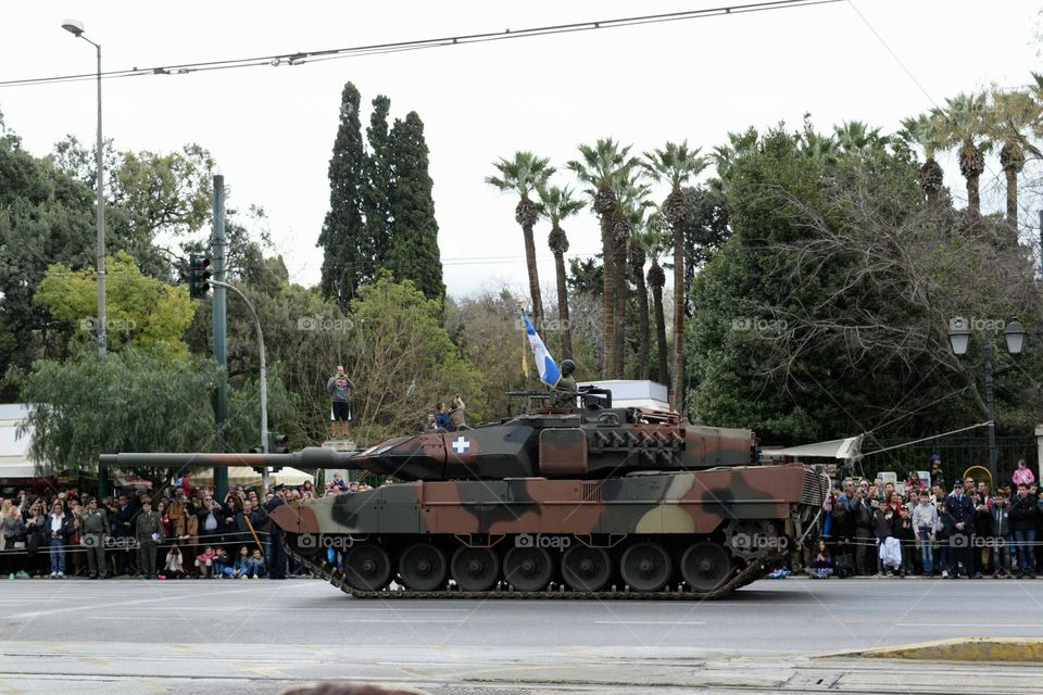 Athens Military Parade Leopard