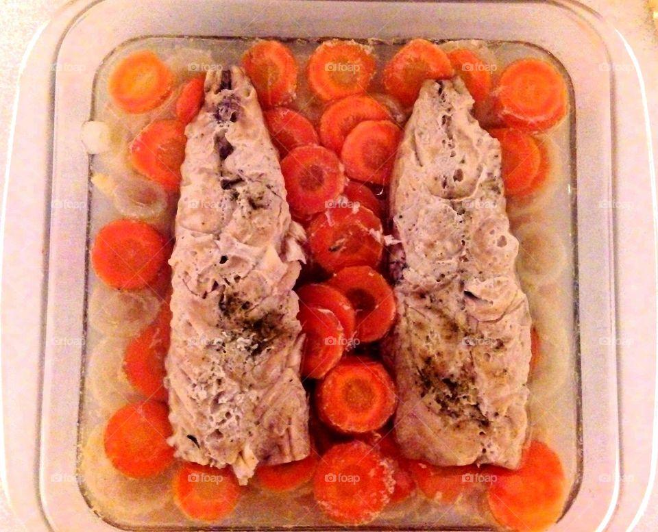 delicious food fish