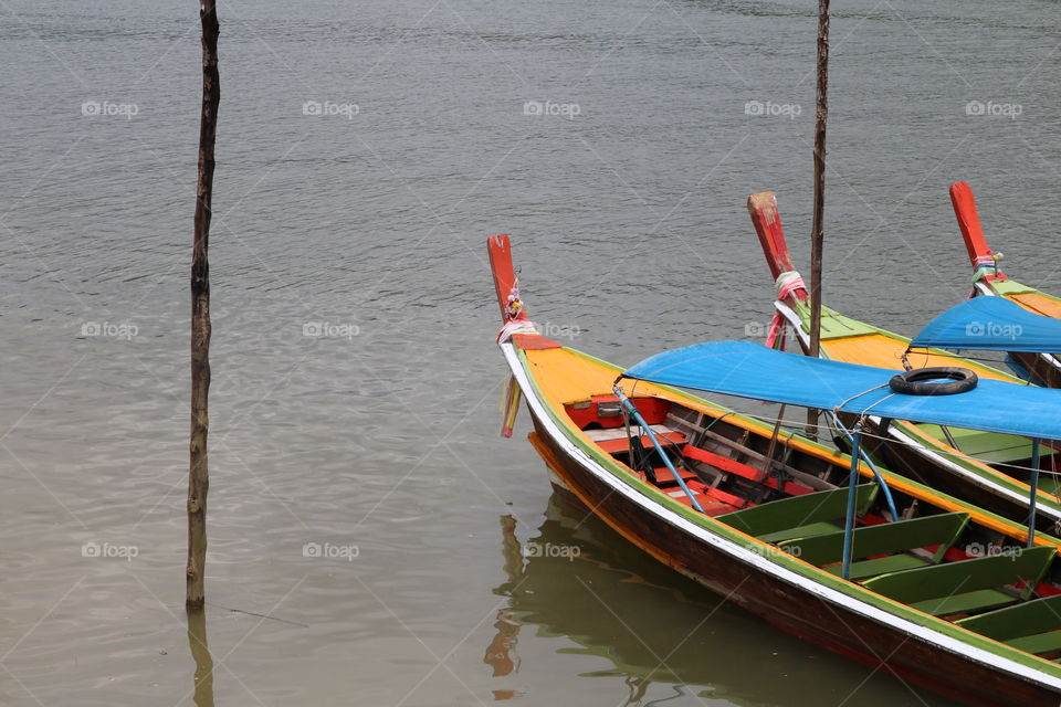 traditional boats from thailand