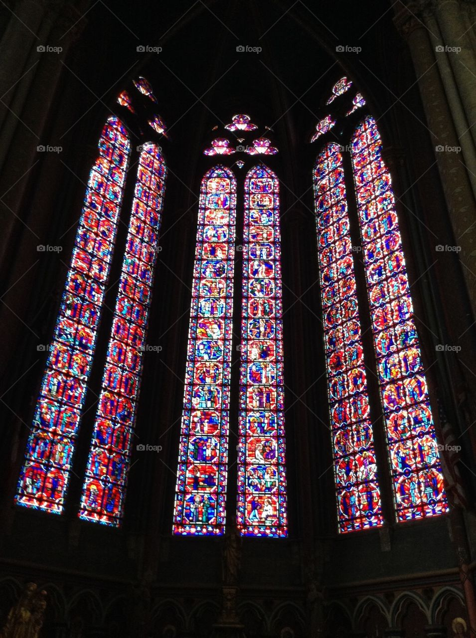 Gothic Glass. France