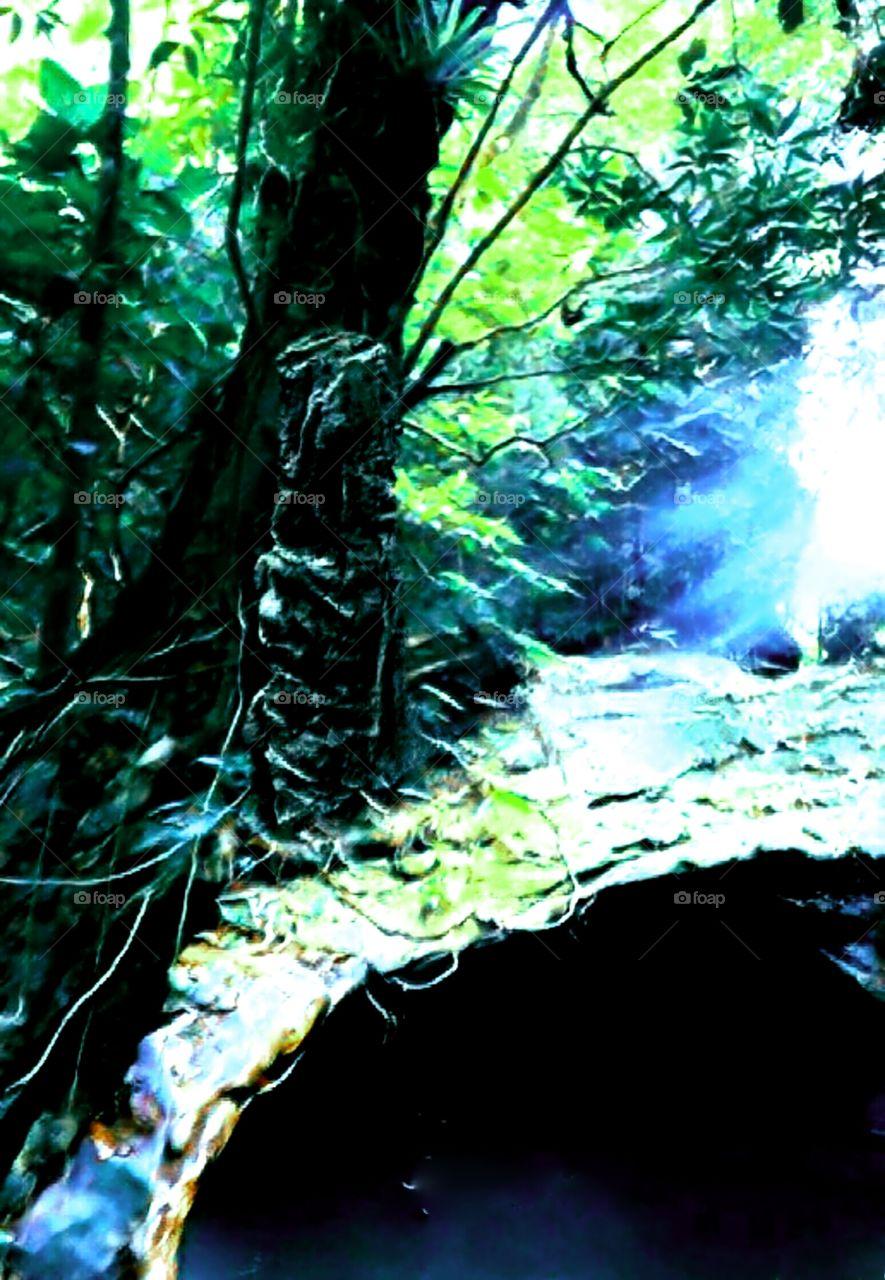 Blue Light Cave