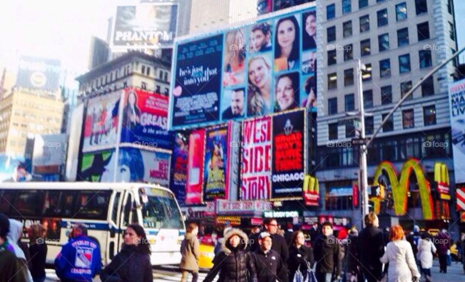 Times Square . New York City