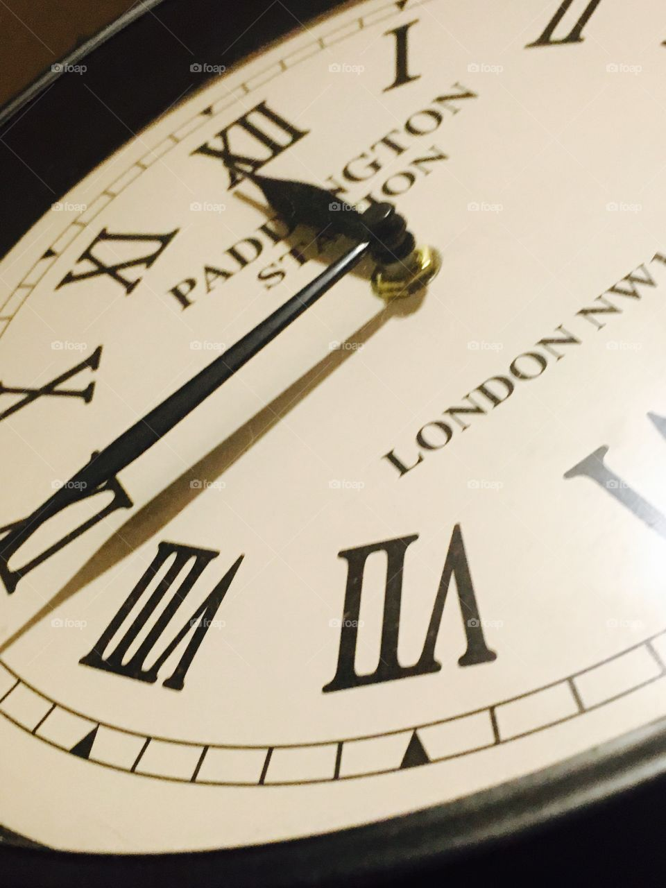 Paddington Station style clock.