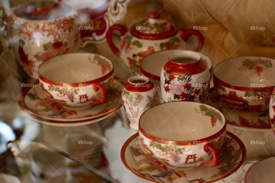 Cup, Porcelain, Tea, Drink, Dishware