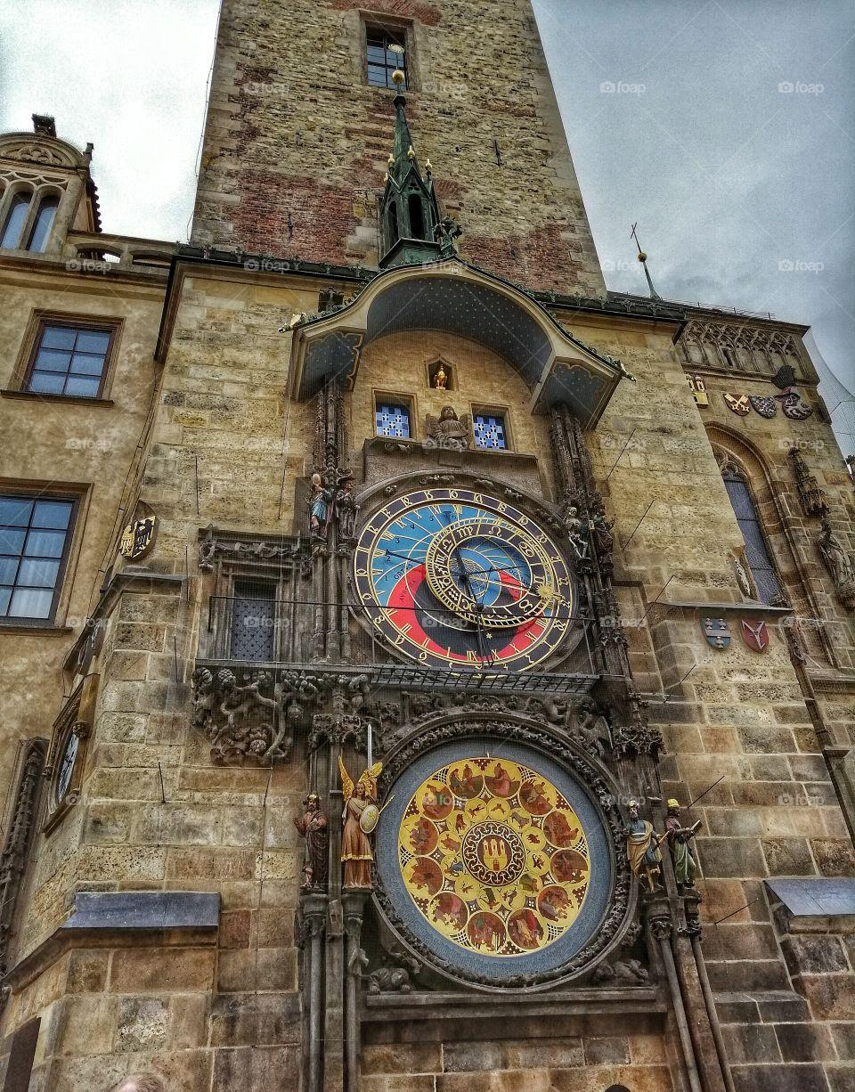 Clock Orloy in Prague.