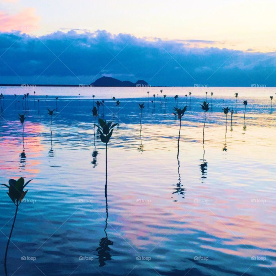 Koh Pha Ngan NW Mangrove sunset