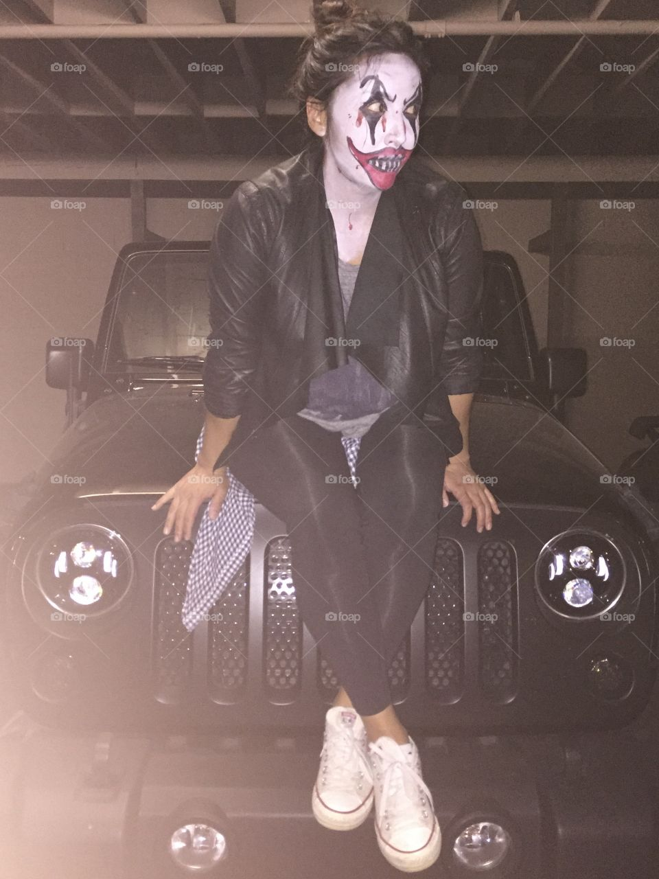Scary Clown, Halloween, Jeepers Creepers, Jeep Clown, Her, She Clown