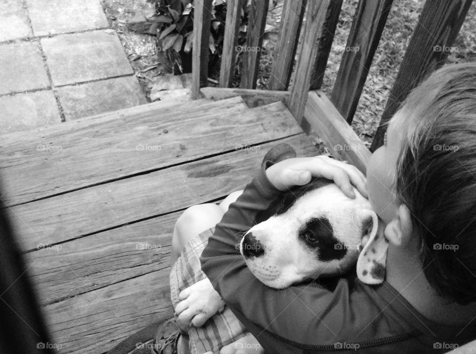Boy & his dog