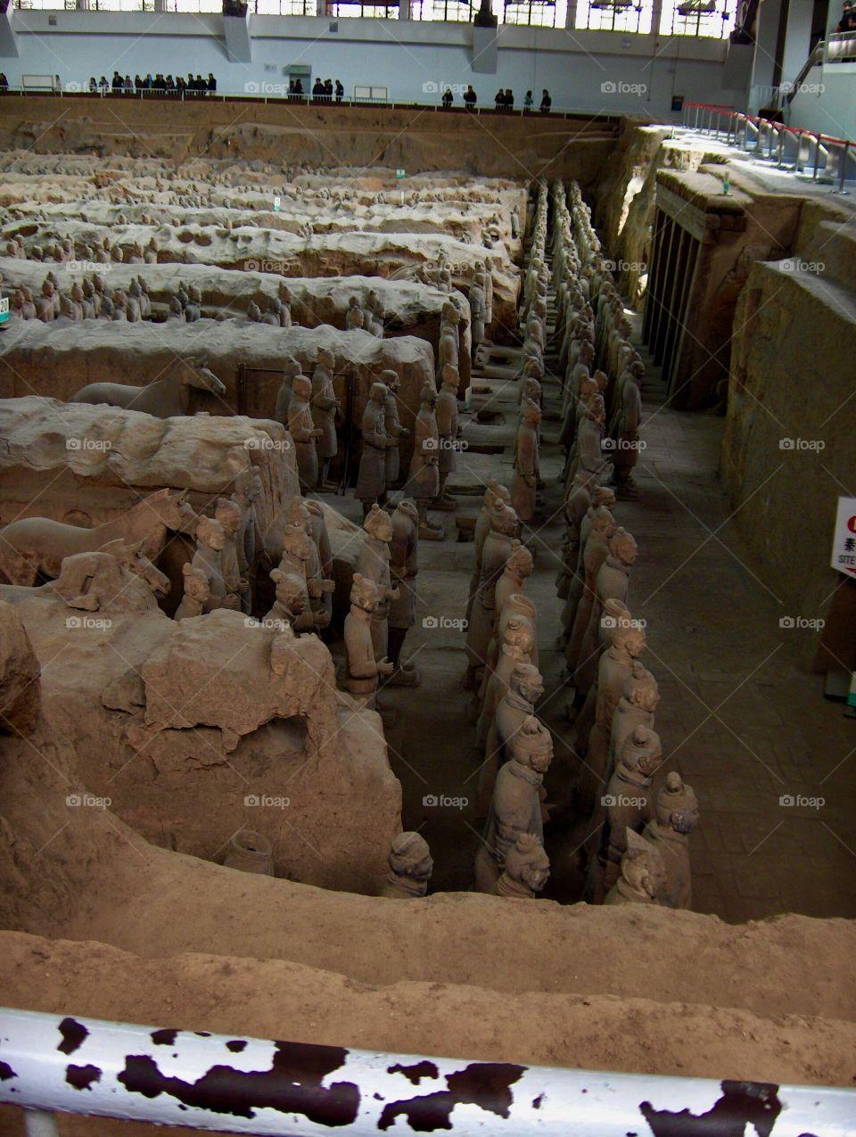 Terracotta Army Xian China