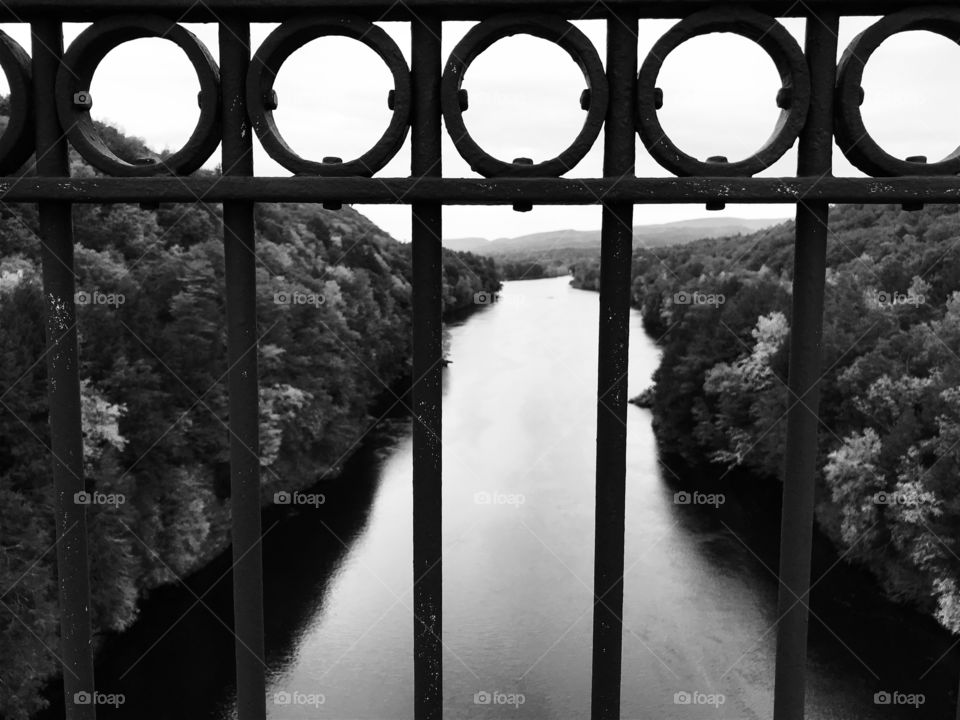 French King Bridge looking over CT River