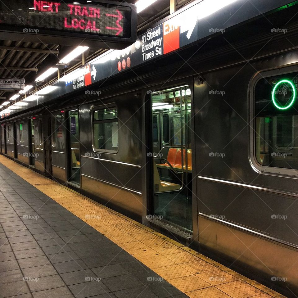 NYC Subway Train