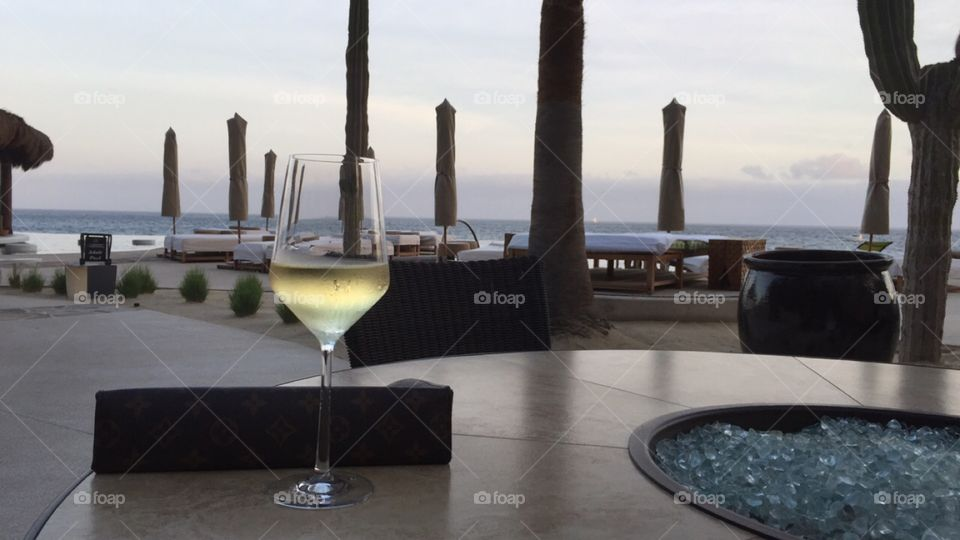 Wine and a view