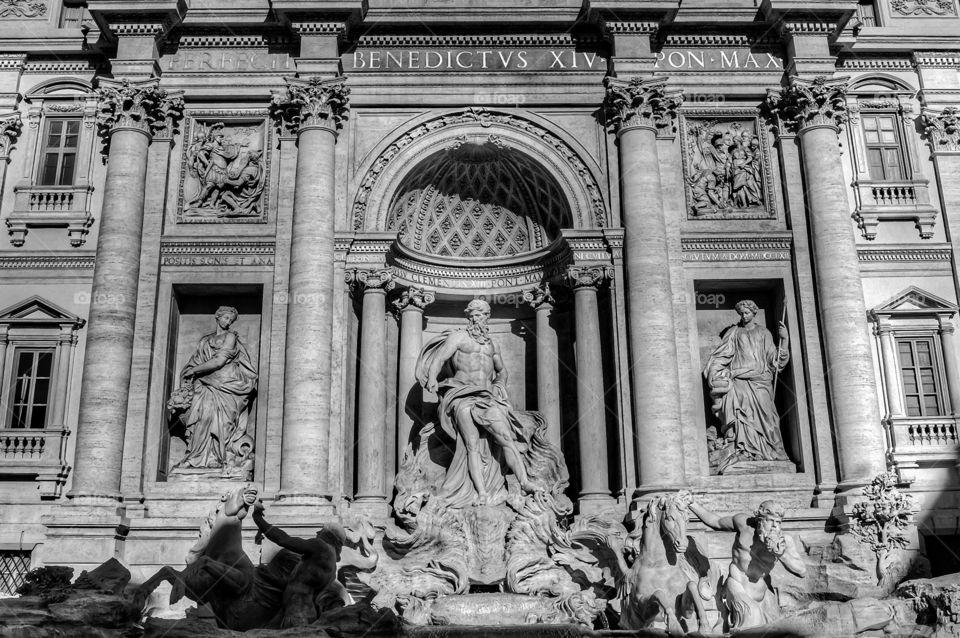 La Fontana di Trevi (Rome - Italy)
