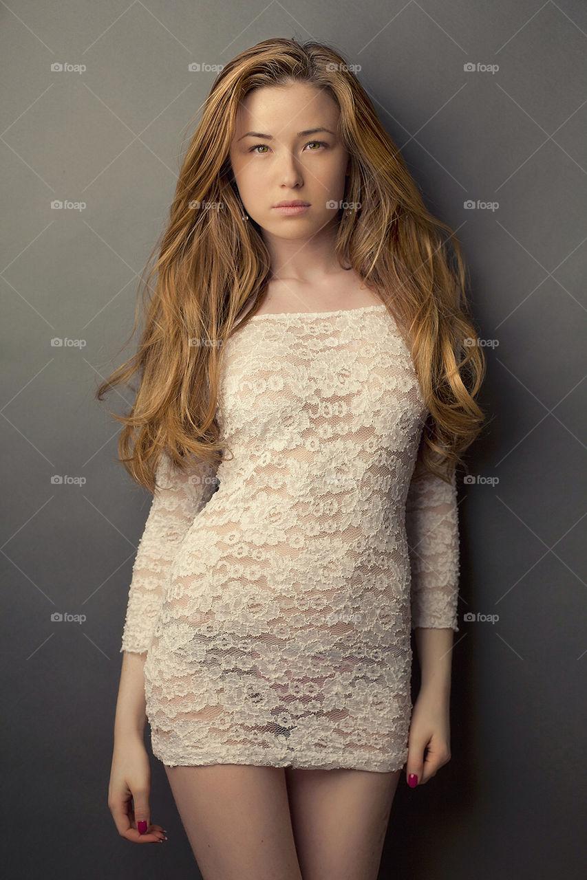 Pure Beauty   image, girl, woman, dress