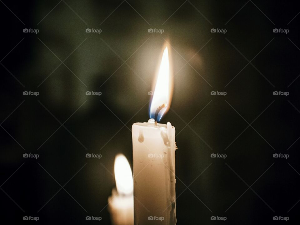 .Be able to blow out a dinner candle without sending wax flying across the table.