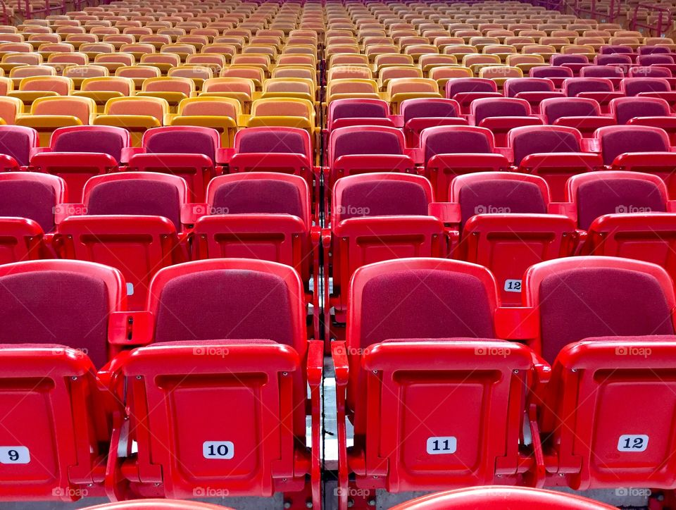 Seats at American Airlines Arena