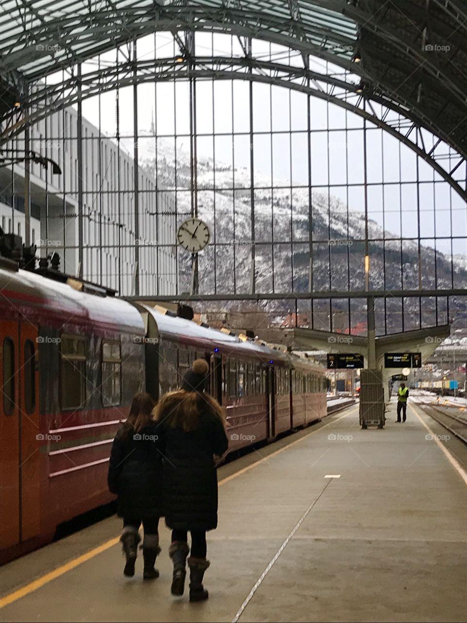 Winter travel in Bergen