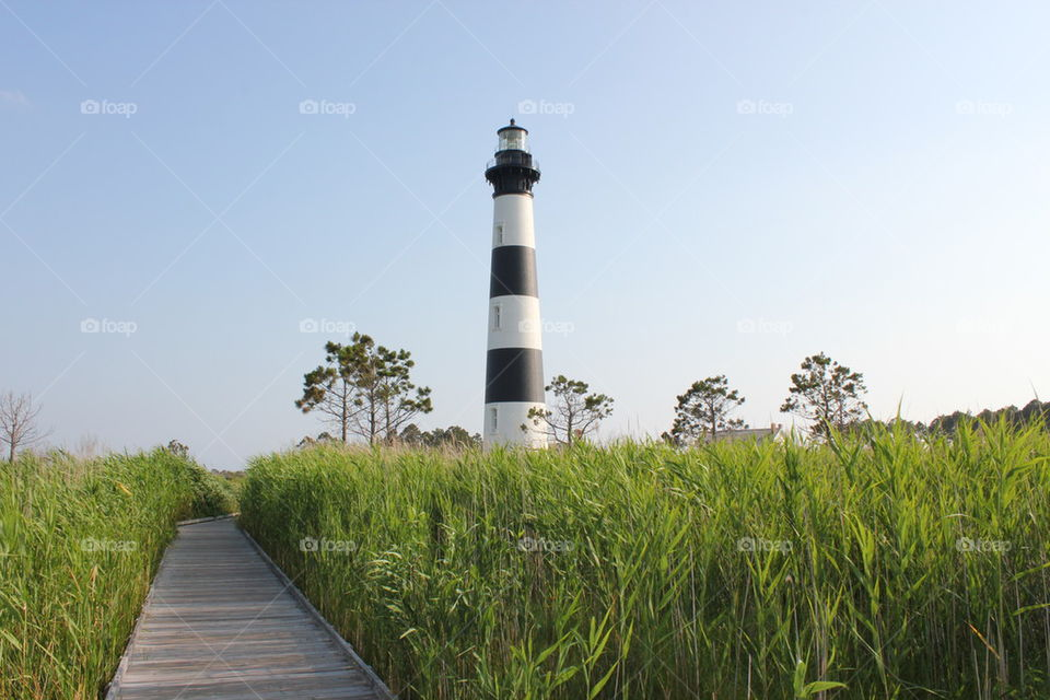 Bodie Lighthouse    boardhouse, bodie lighthouse, pyrolilly, outer banks