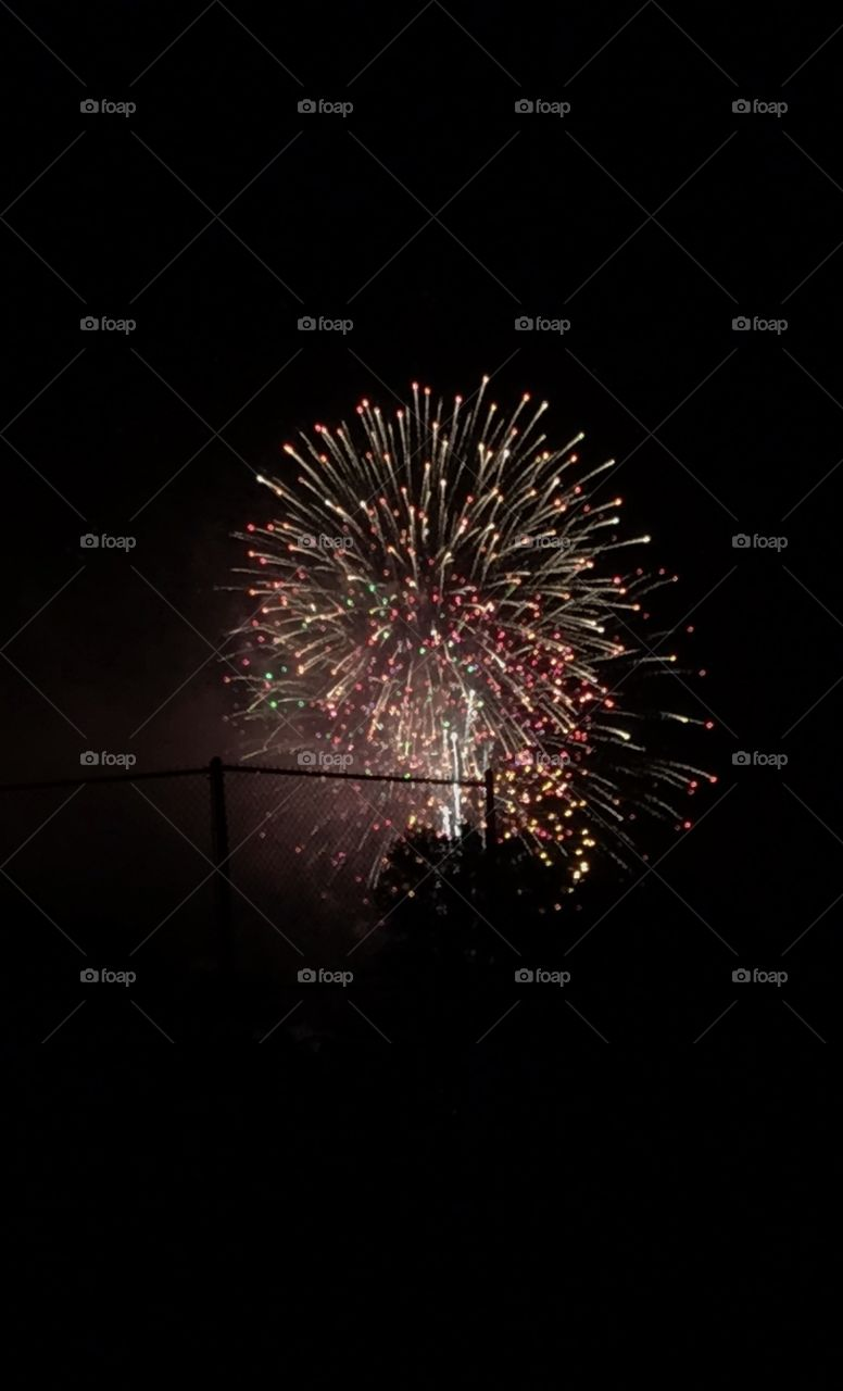 Fireworks in Ohio