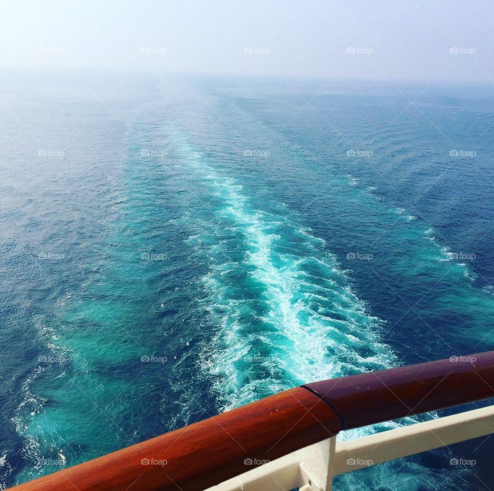 Blue waves @Persian Gulf