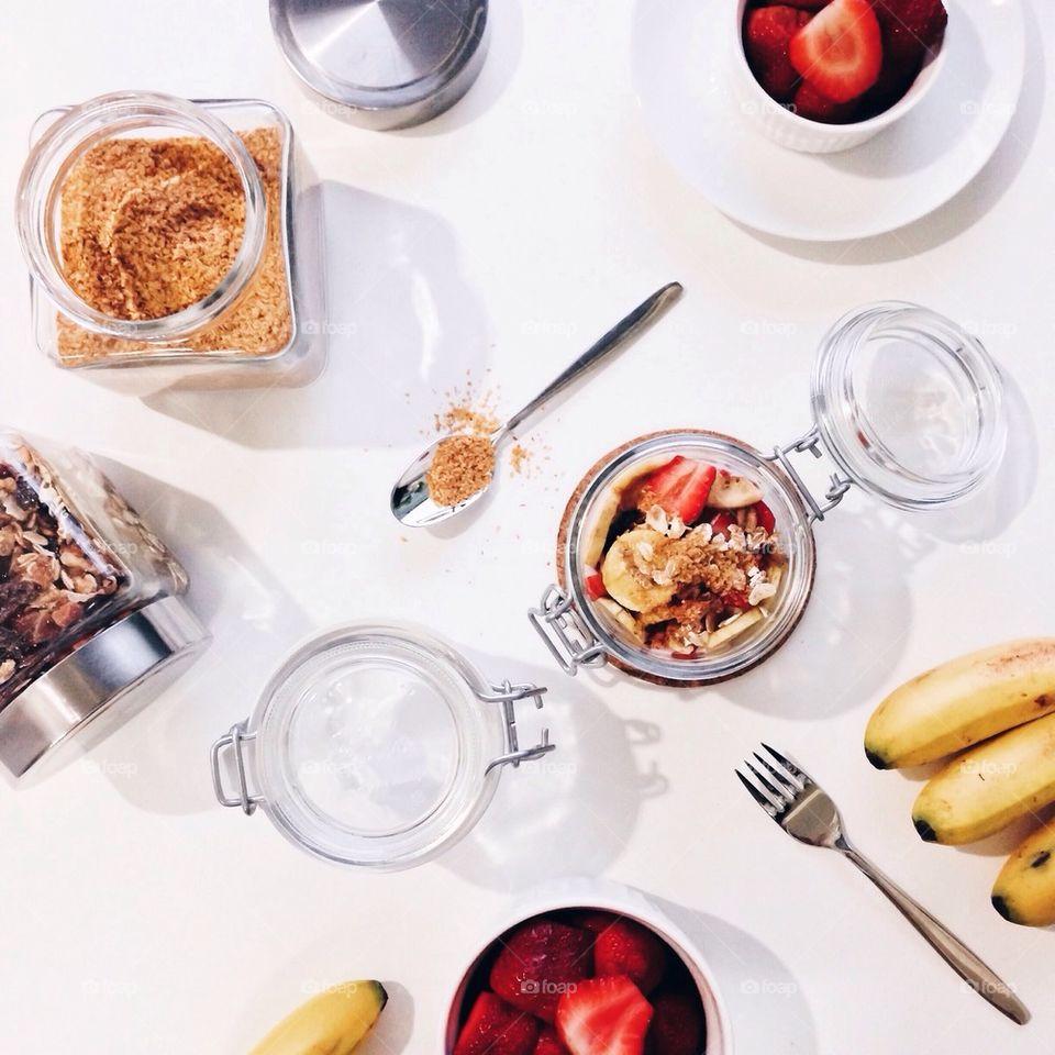 Muesli for breakfast