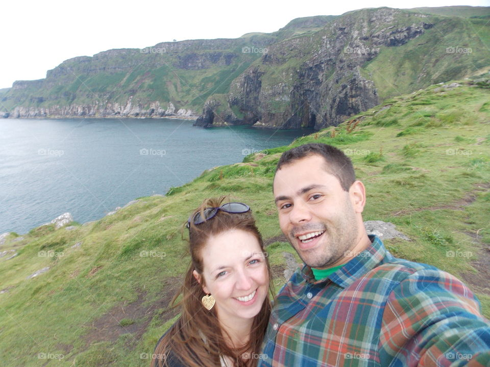 Happy couple, Northern Ireland