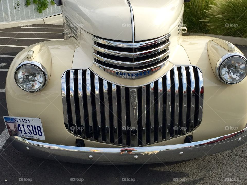 Chevy front