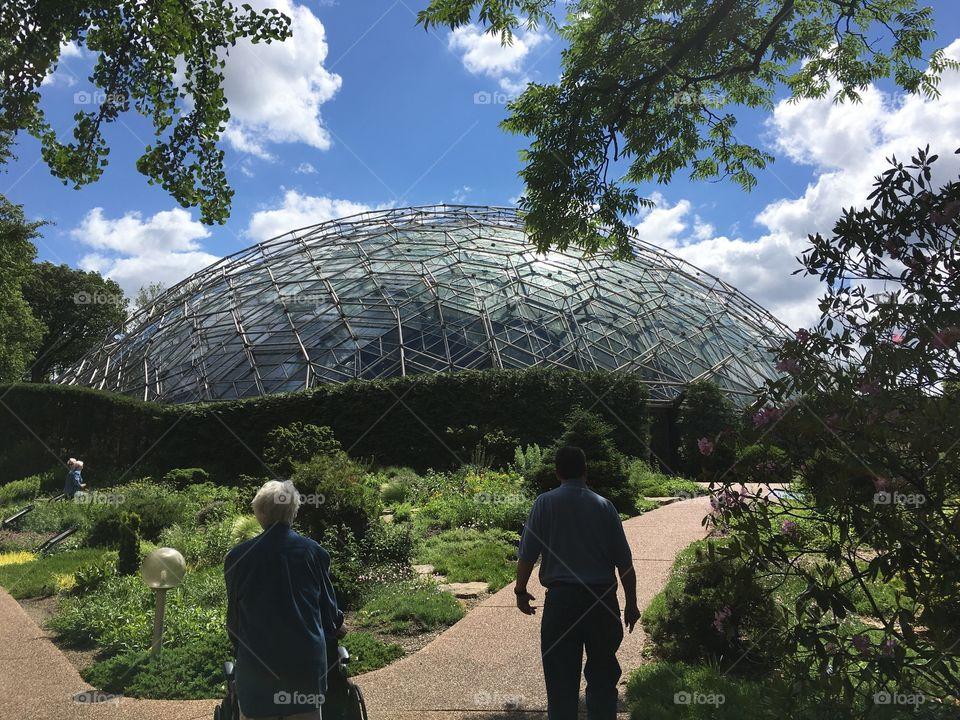 Climatron at the Missouri Botanical Gardens