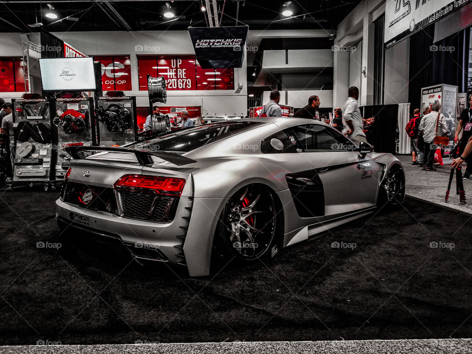 Widebody Audi R8 V10+