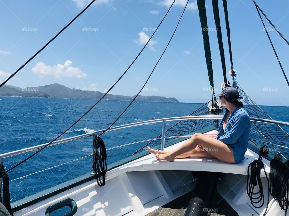 Traveling Solo. This shot was taken while traveling the Whitsunday Islands in Australia.