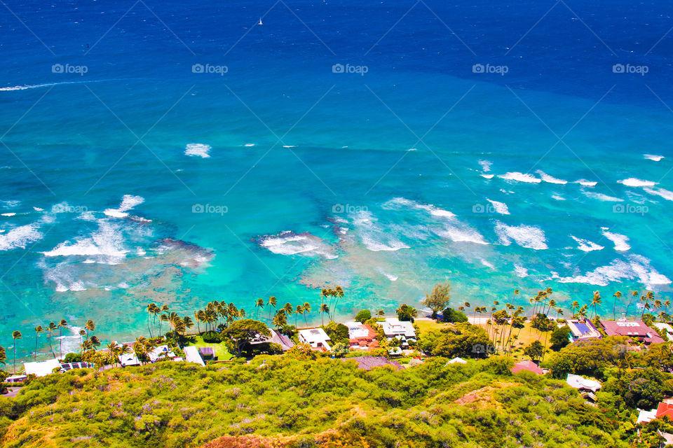 Beautiful scenery in Hawaii