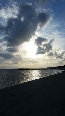 Water, Landscape, Sunset, Sky, Ocean