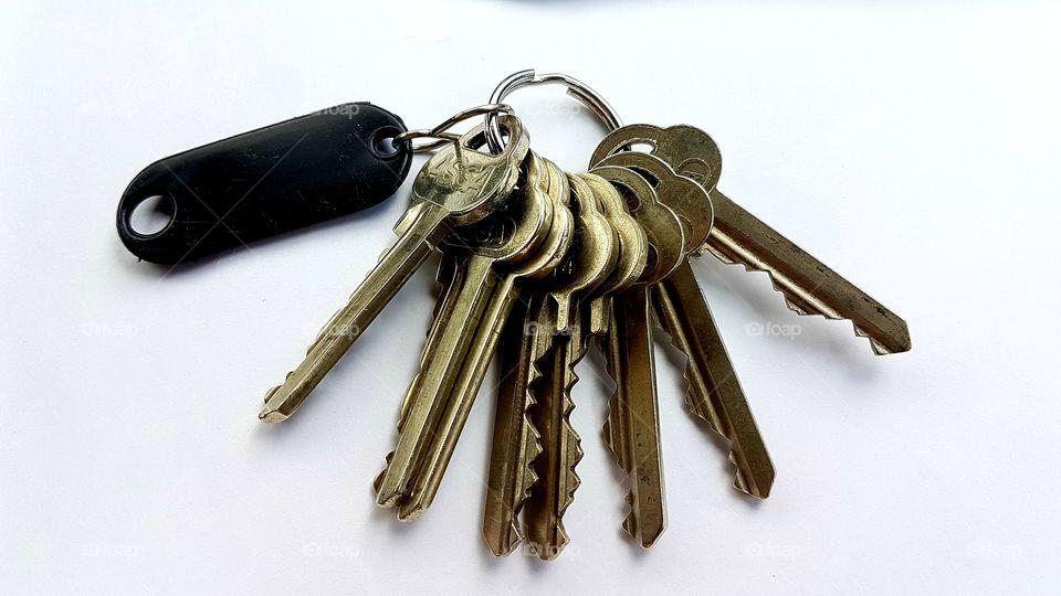 Keys, in color