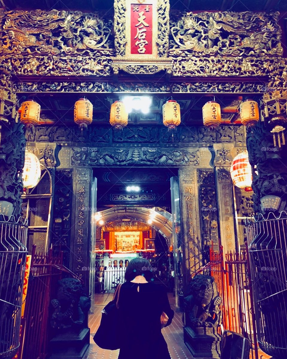 #虔誠  #Pray #西門町 #天后宮 #faith #今古有神奉志士 #wish #hope #taiwan #taipei #chinese #2018