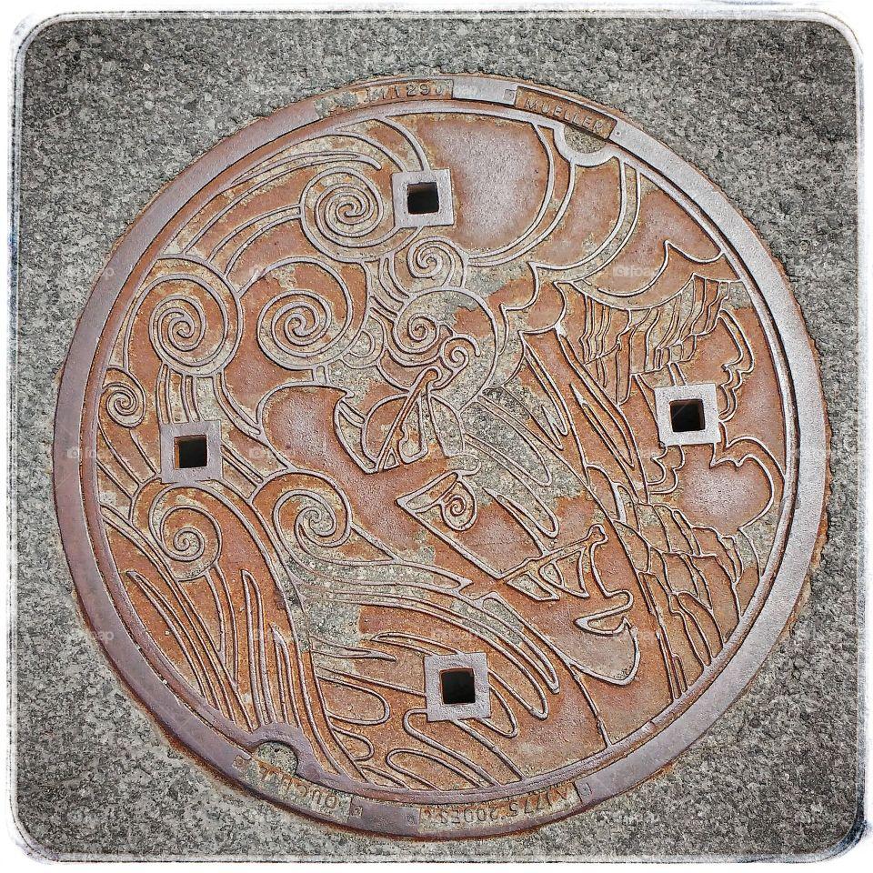 manhole cover Gatineau 04