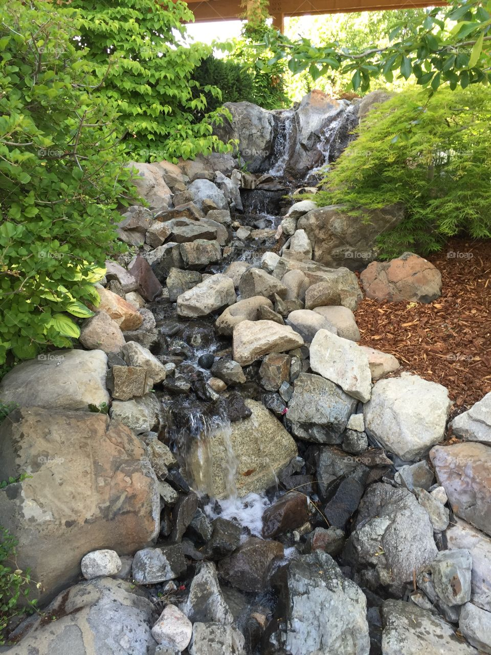 Trickling Stream at BC Winery