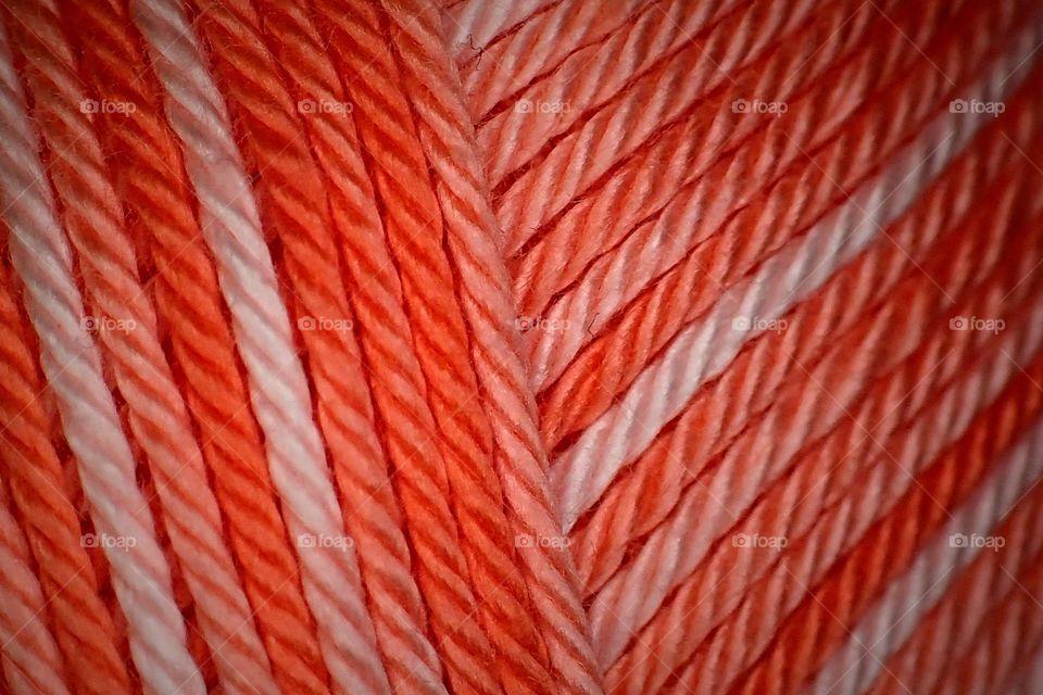 Colourful thread