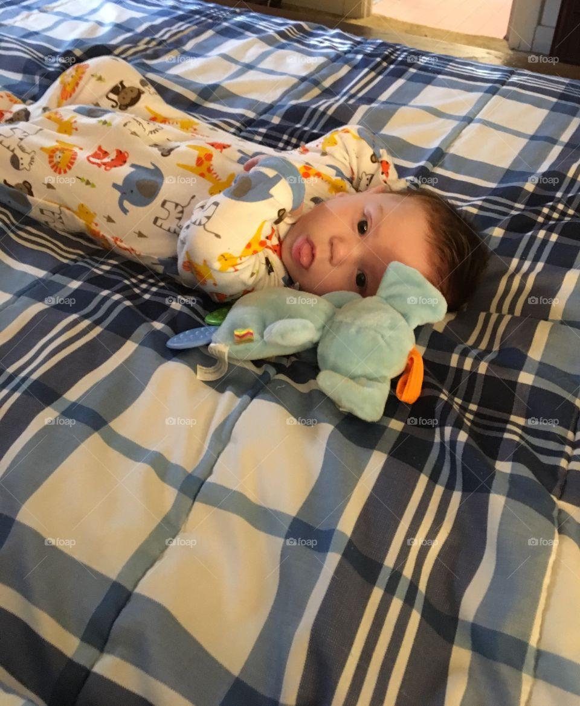 My grandson so adorable❤️❤️❤️