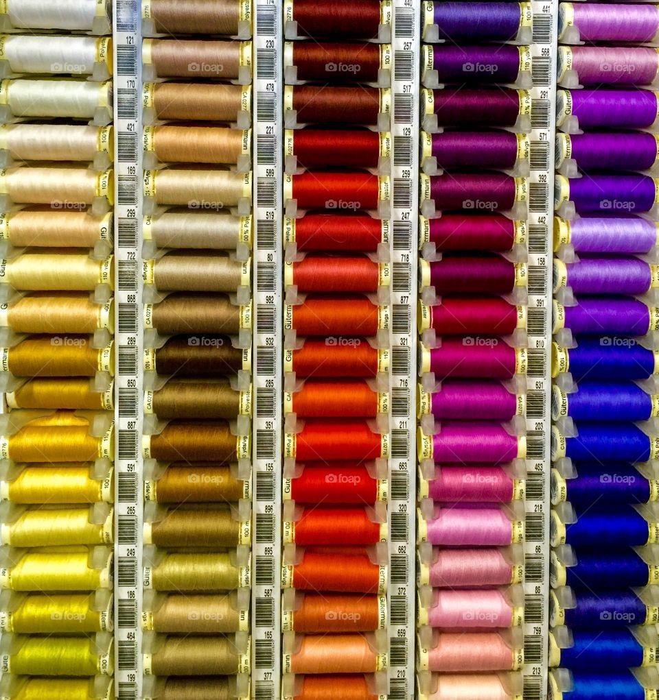 Colourful Bobbins