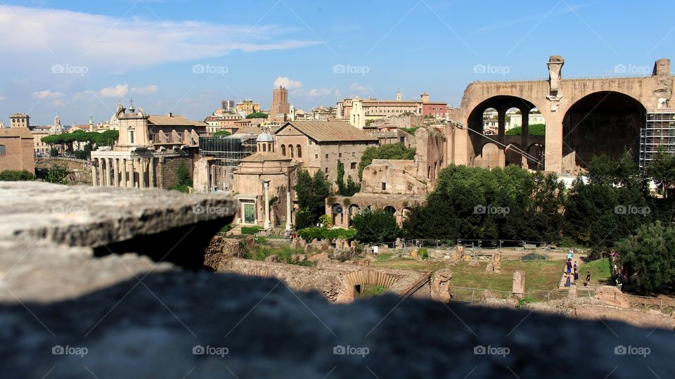Foro Romano views.