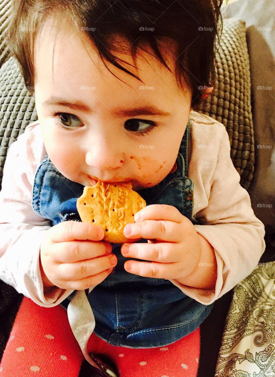 Babies favourite chocolatey snack