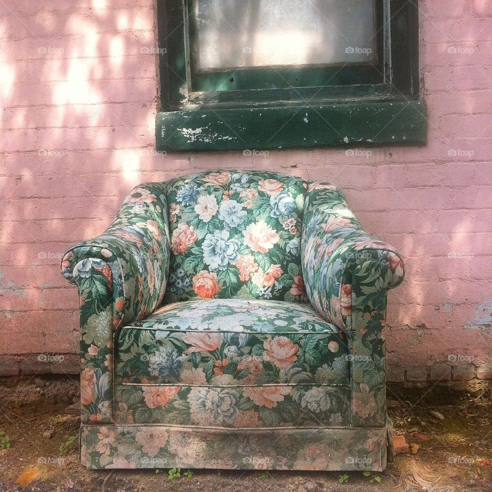 Chair of Flowers